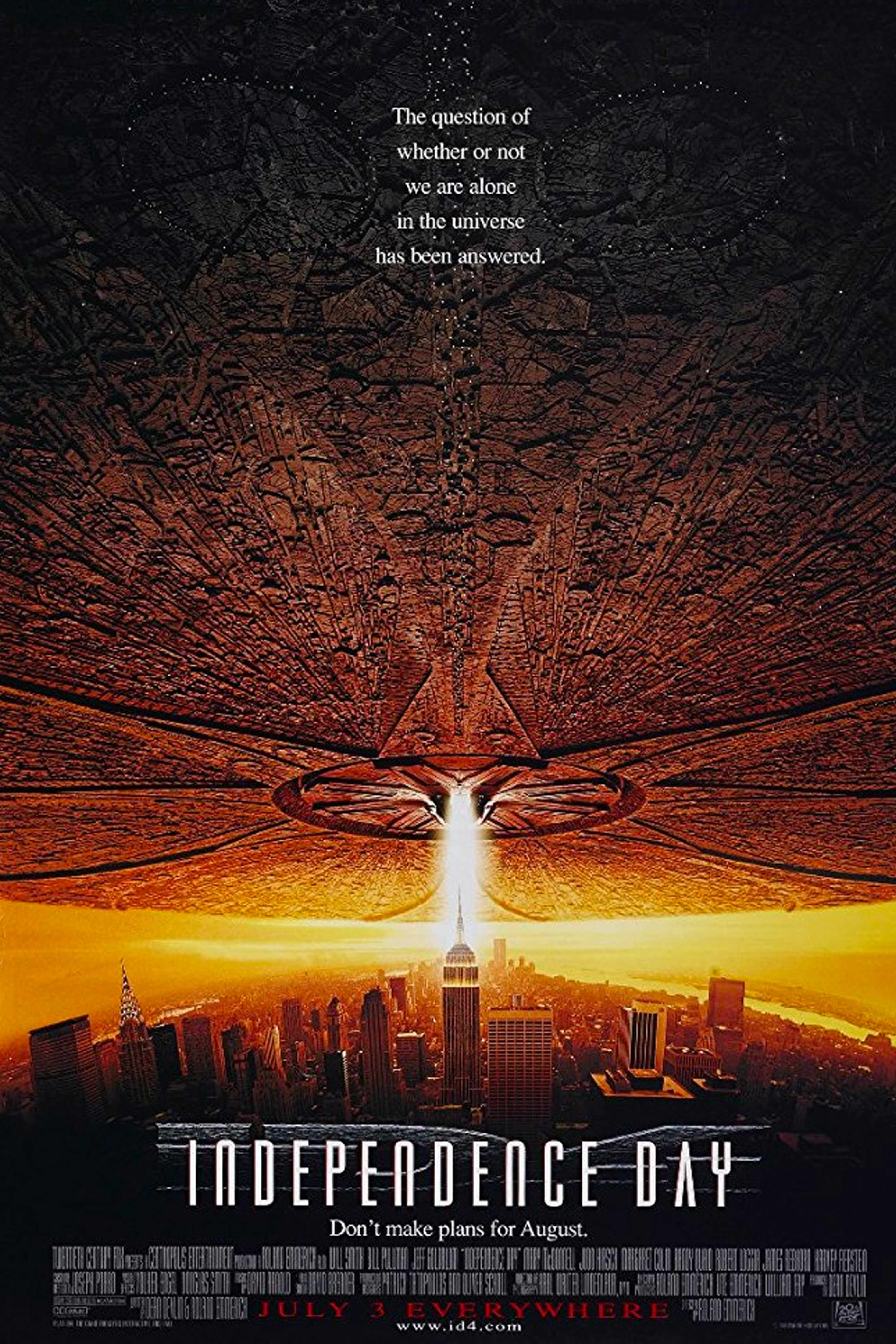 "Watch Now Summer Vibes : 4th of July, American independence, cartoonish violence, aliens, Will Smith Favorite Quote : ""Welcome to Earth!"" - Captain Steve Hiller (Will Smith) Filmed In: New York, California, New Jersey, Arizona, Nevada, Utah"