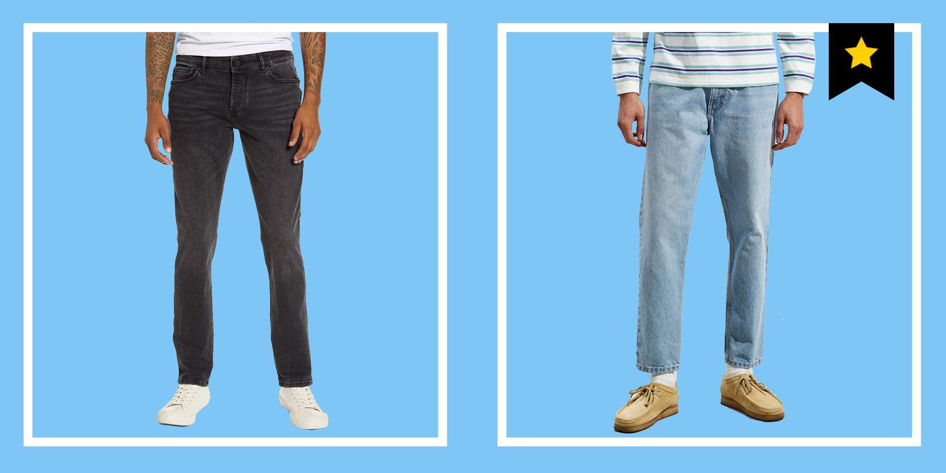 looks like Denim not made of Denim Denim Ribbon Jeans