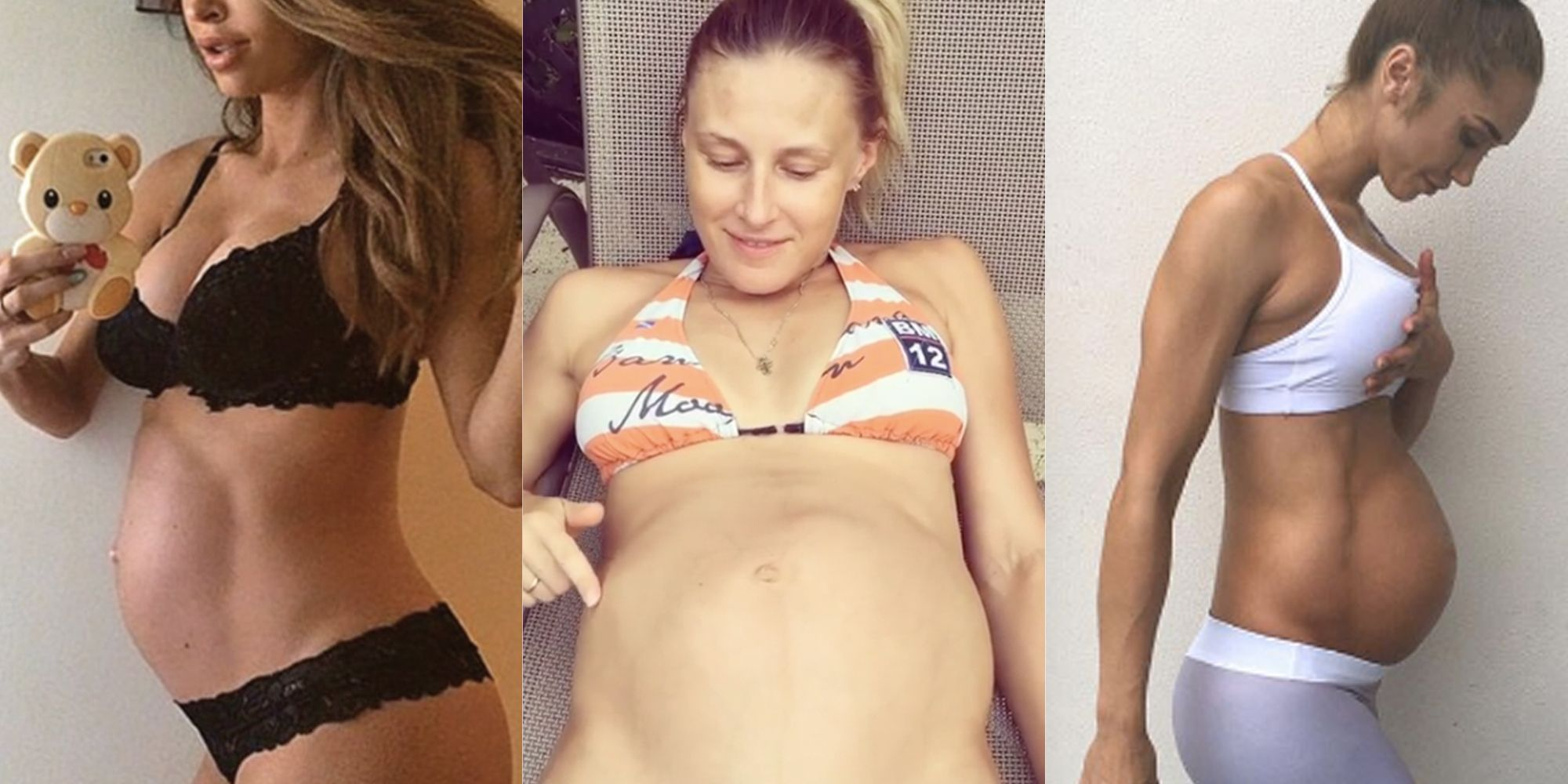 Public nude of mom pregnant 3d