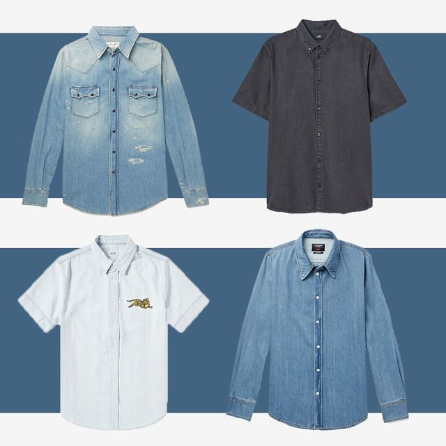 17ec210ad 14 Best Denim Shirts for Men - Casual Denim Button-Up Shirts