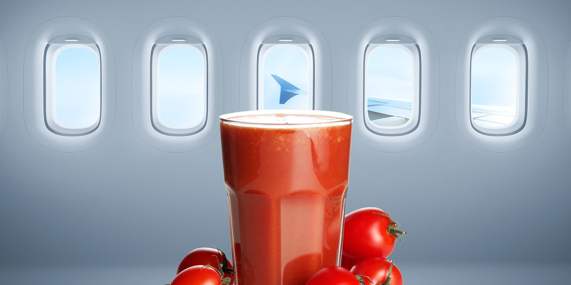 Tomato Juice Is the Best Airplane Drink. Hear Me Out.