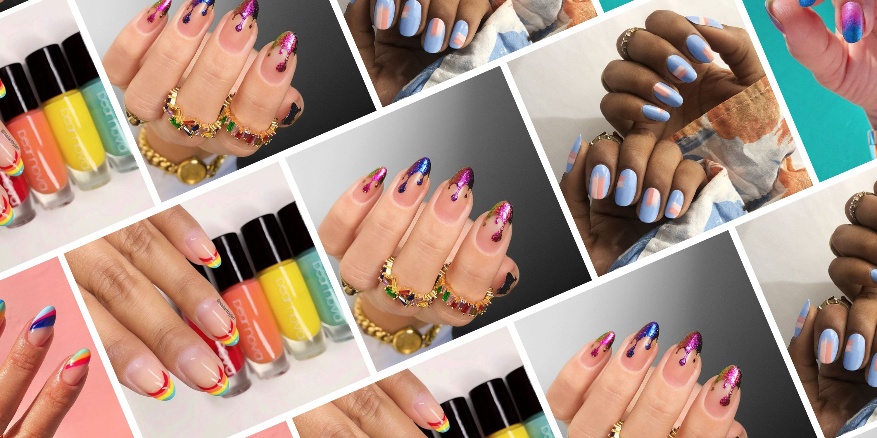 14 Nail Ideas for Pride Month (That Aren't All Rainbows)