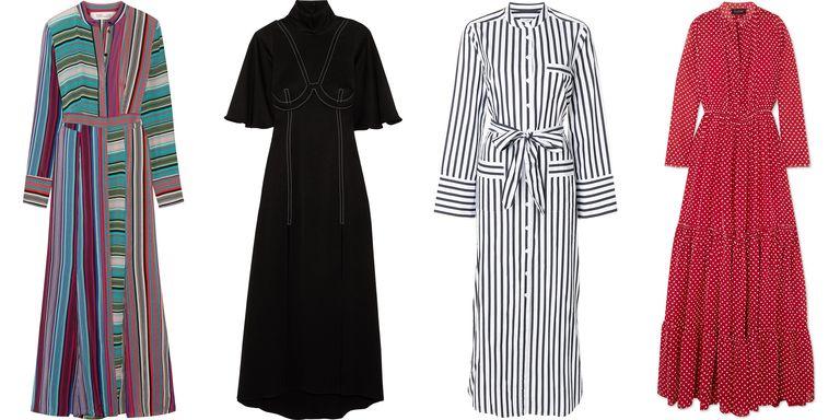 Maxi dresses for spring 2018
