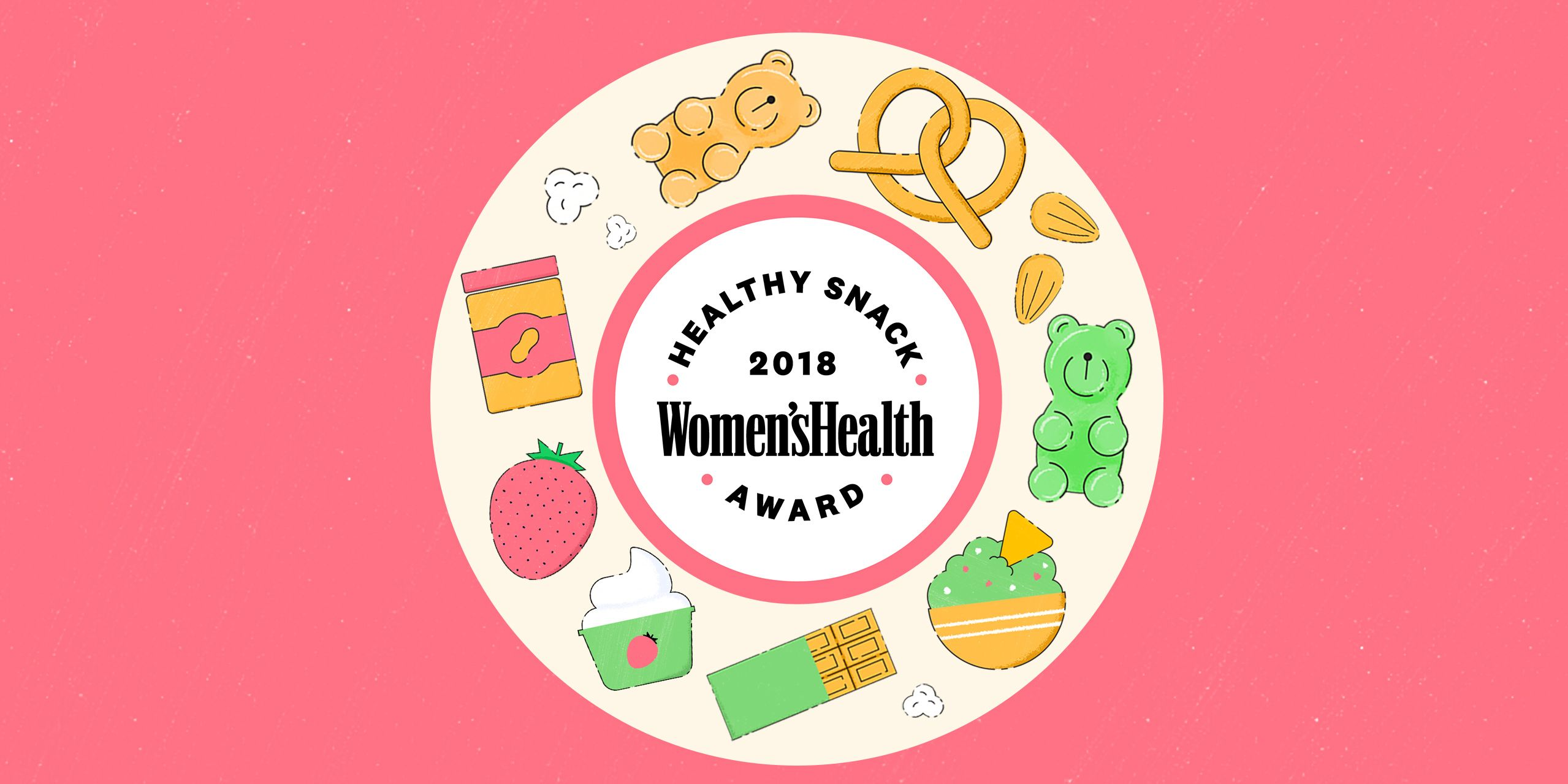 Women's Health 2018 Healthy Snack Awards