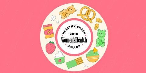 Women's Health 2018 Healthy Snack Awards