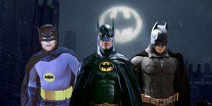 歴代バットマン俳優6人をランク付け
