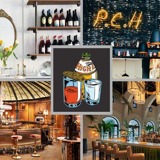 Interior design, Building, Furniture, Bar, Room, Restaurant, Architecture, Brunch,