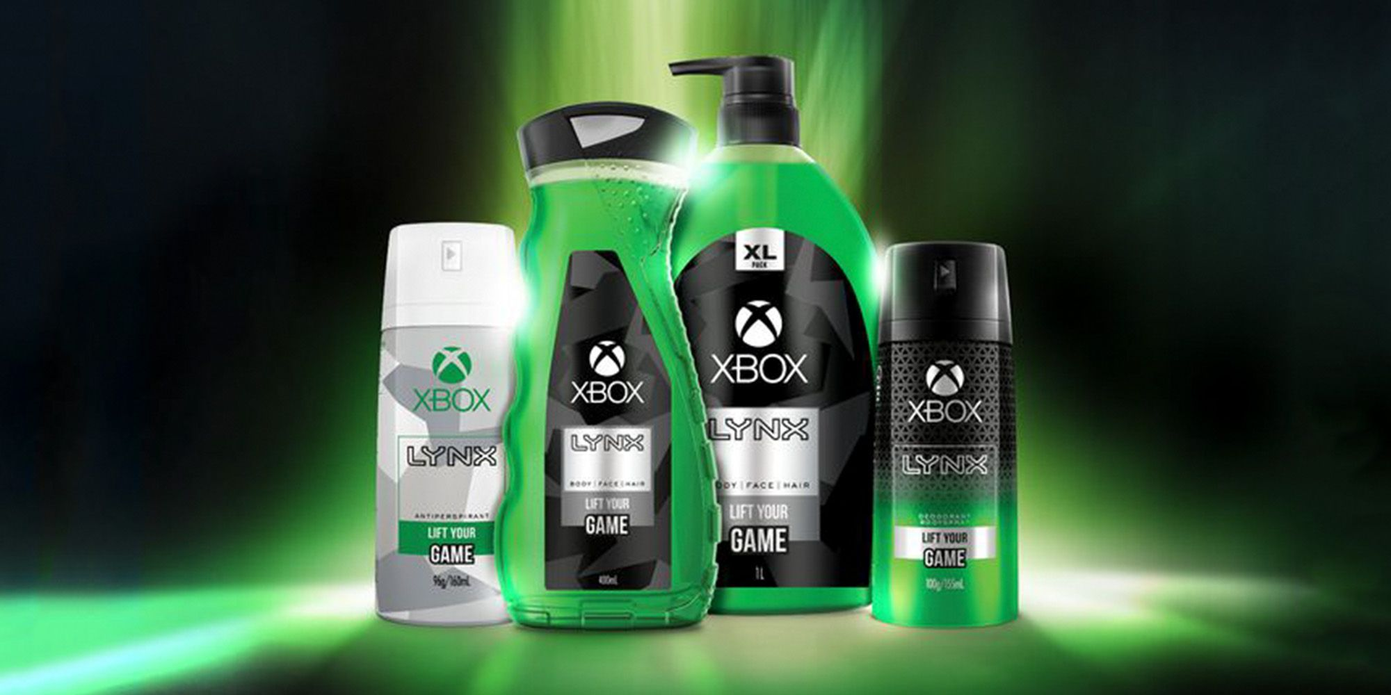 Xbox Axe Body Spray for Gamers - Microsoft and Lynx Release