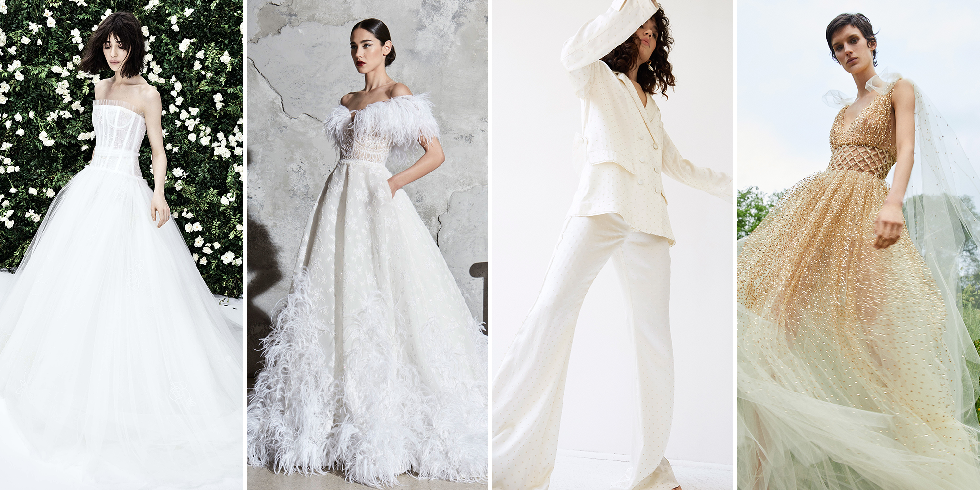 These Are the Top Bridal Trends for 2020 Weddings
