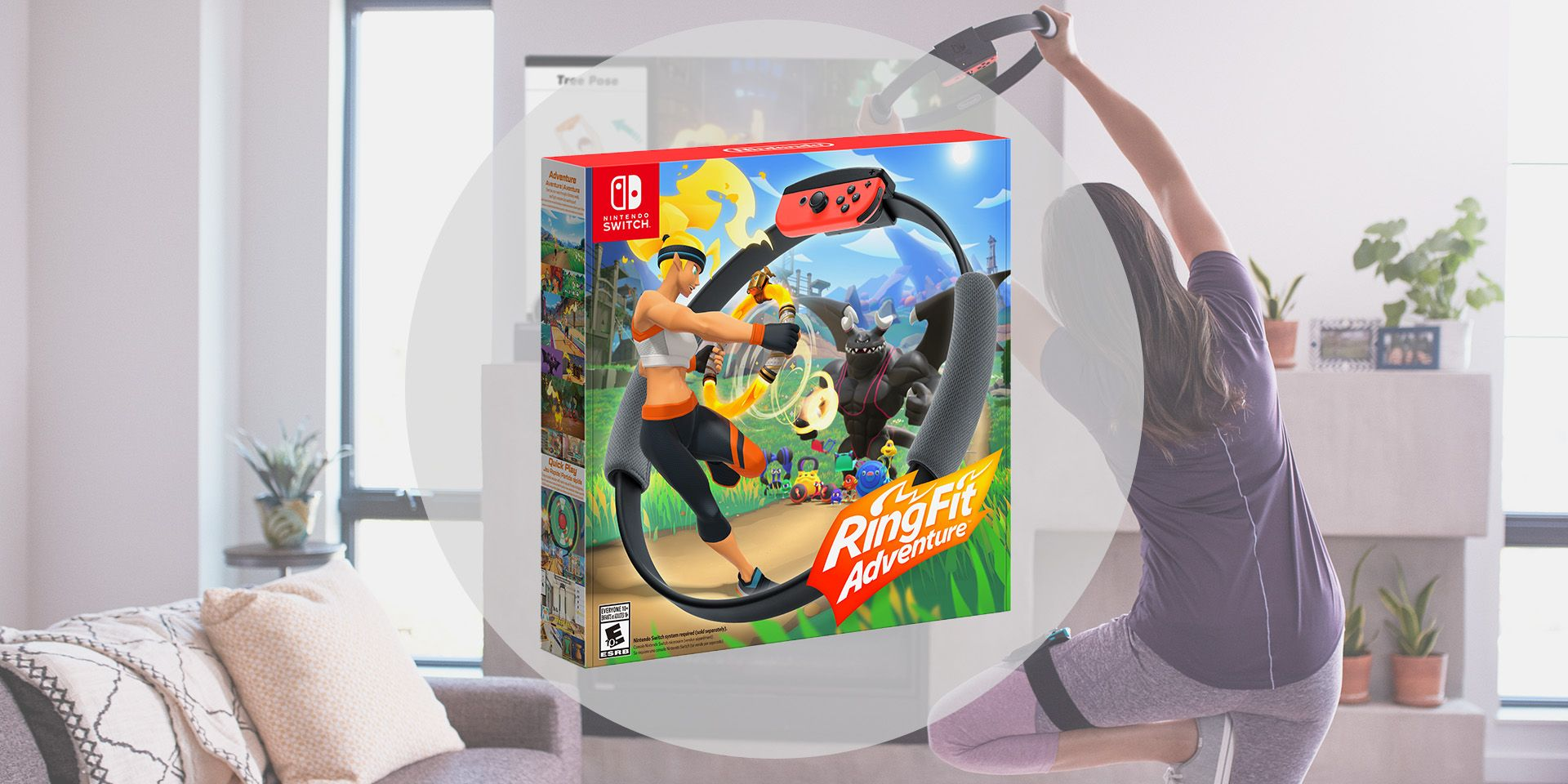Nintendo's Ring Fit Adventure Is Getting Us to Exercise in a Legitimately Cool Way