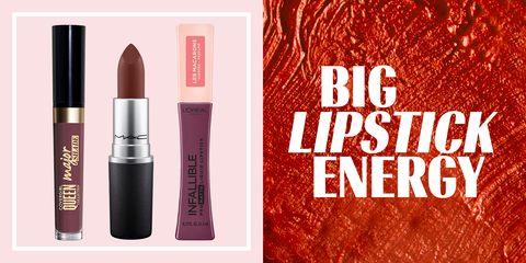 Red, Cosmetics, Lipstick, Product, Pink, Beauty, Lip, Lip care, Tints and shades, Lip gloss,