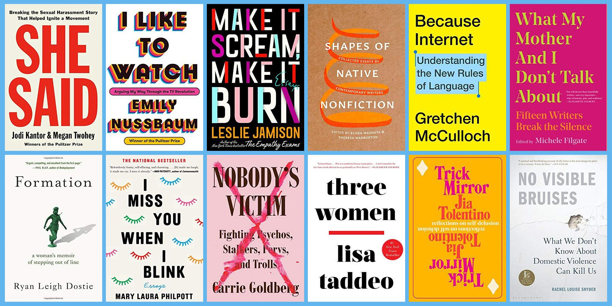 The Best Nonfiction Books of 2019 Span Everything From True Crime to Scammer Culture