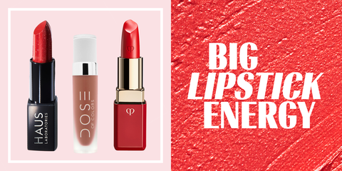 Red, Cosmetics, Lipstick, Pink, Lip, Beauty, Product, Lip care, Orange, Tints and shades,