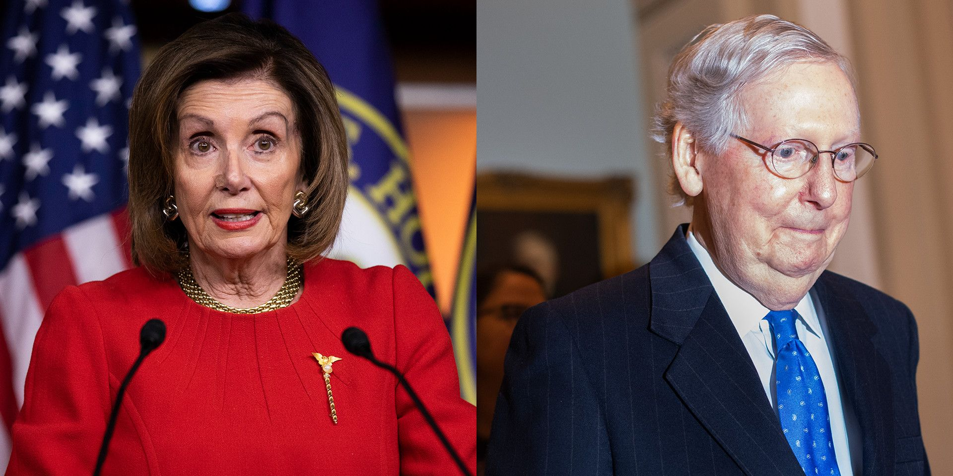 Turns Out Mitch McConnell Might Have More Soft Spots in His Caucus Than Nancy Pelosi Does