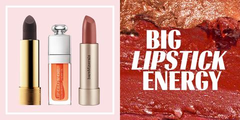 Product, Beauty, Cosmetics, Lipstick, Lip care, Lip, Material property, Peach, Lip gloss, Liquid,