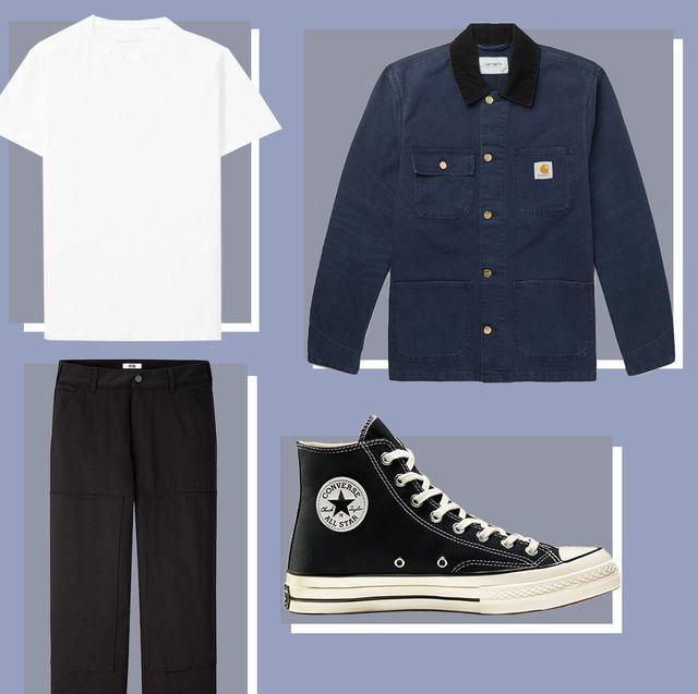 Clothing, White, Footwear, Shoe, Fashion, Sleeve, Uniform, Outerwear, Sneakers, Font,