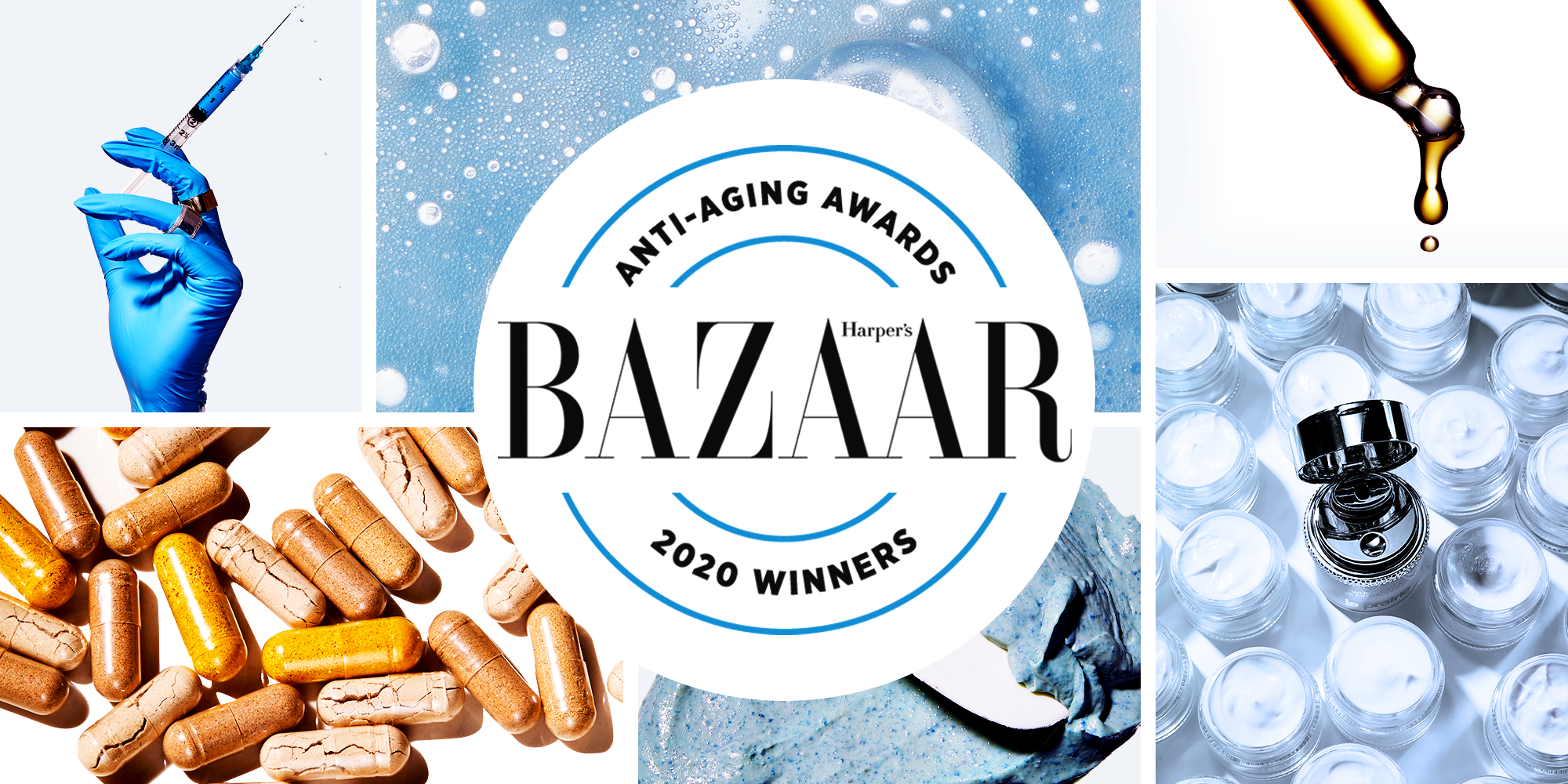 Harper S Bazaar 2020 Anti Aging Awards Best Anti Aging Products For Wrinkles