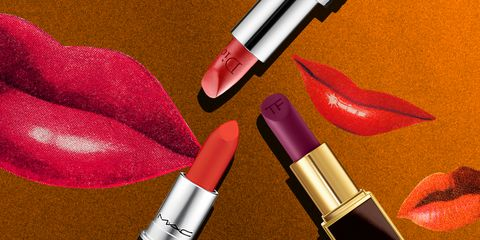 Pink, Lipstick, Red, Cosmetics, Lip, Beauty, Orange, Tints and shades, Material property, Magenta,