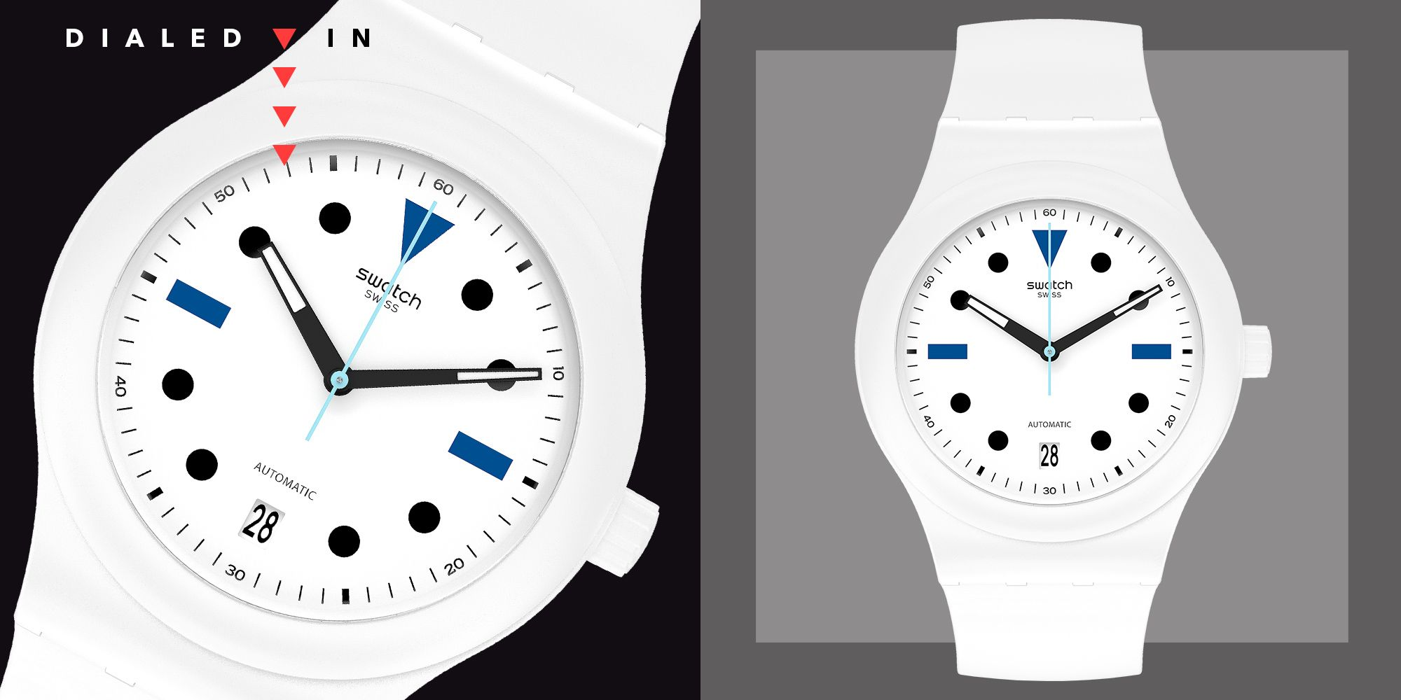 Swatch and Hodinkee Just Unveiled Your Go-To Summer Watch