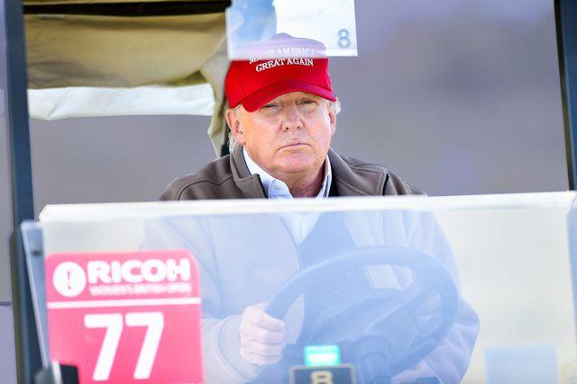 trump driving
