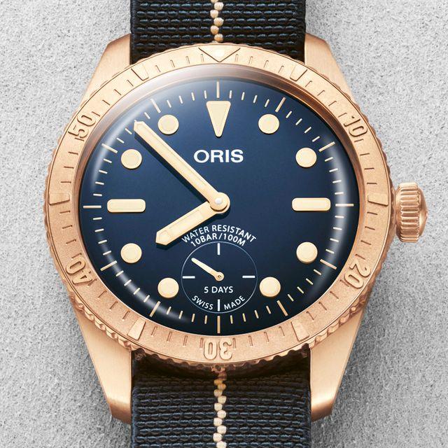 oris carl brashear calibre 401 limited edition watch
