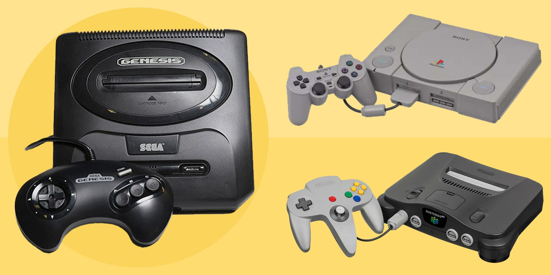 The 10 Best Video Game Consoles of All Time, Ranked