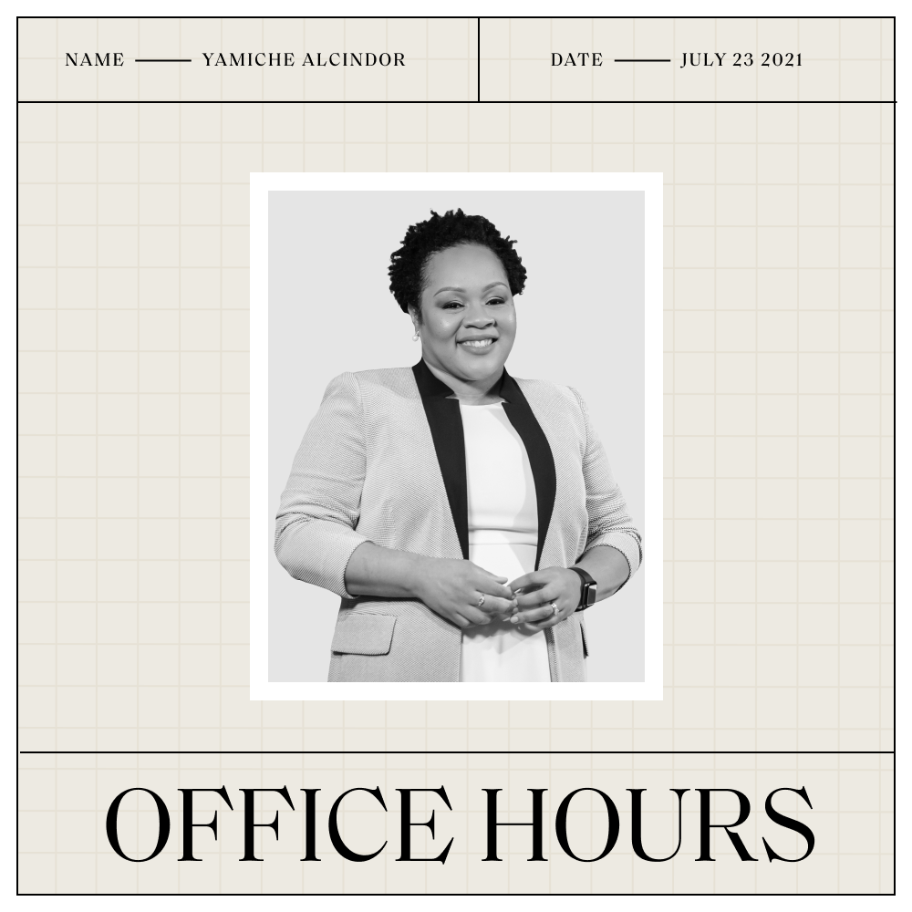 """""""Washington Week"""" Host Yamiche Alcindor Will Never Forget Where She Came From"""