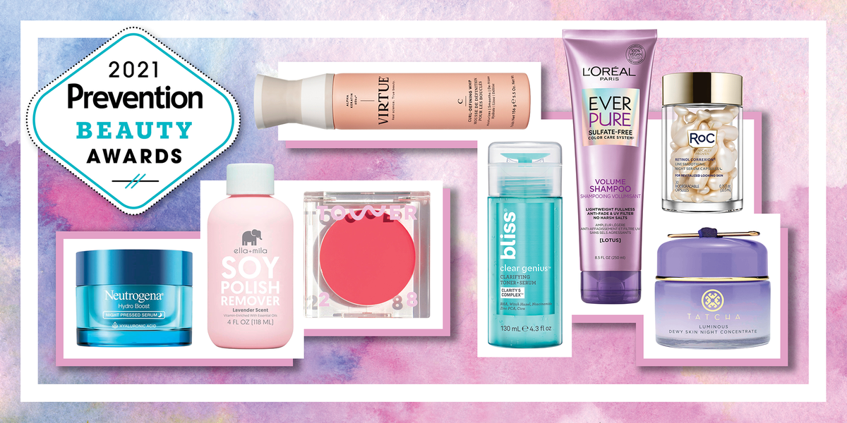 Refresh Your Routine With Prevention's 2021 Beauty Award Winners