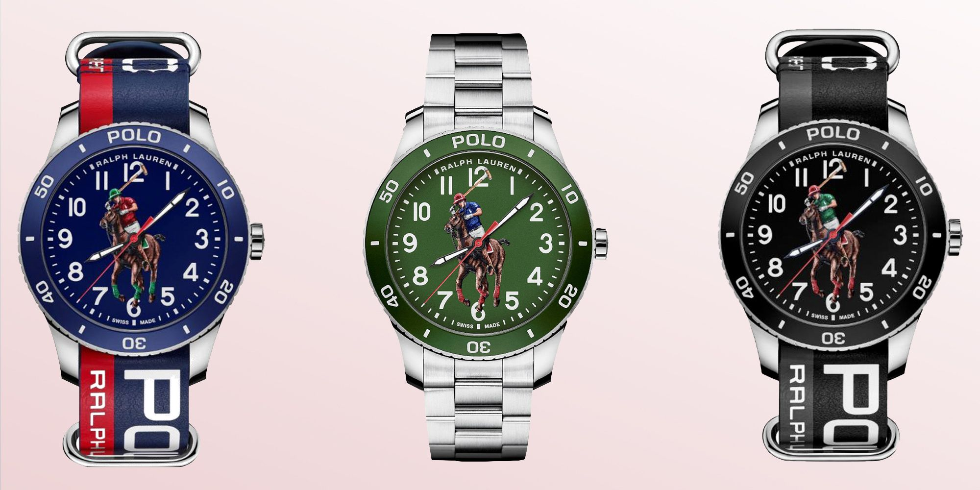 Ralph Lauren Is Going Big and Bold With Its New Polo Pony Watches