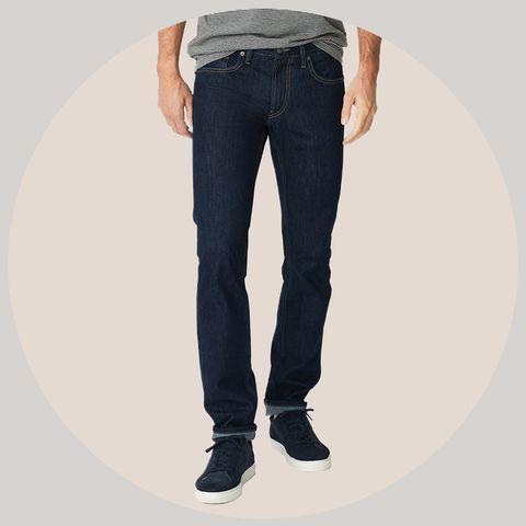 Denim, Jeans, Clothing, Pocket, Standing, Textile, Trousers, Leg, Waist, Knee,
