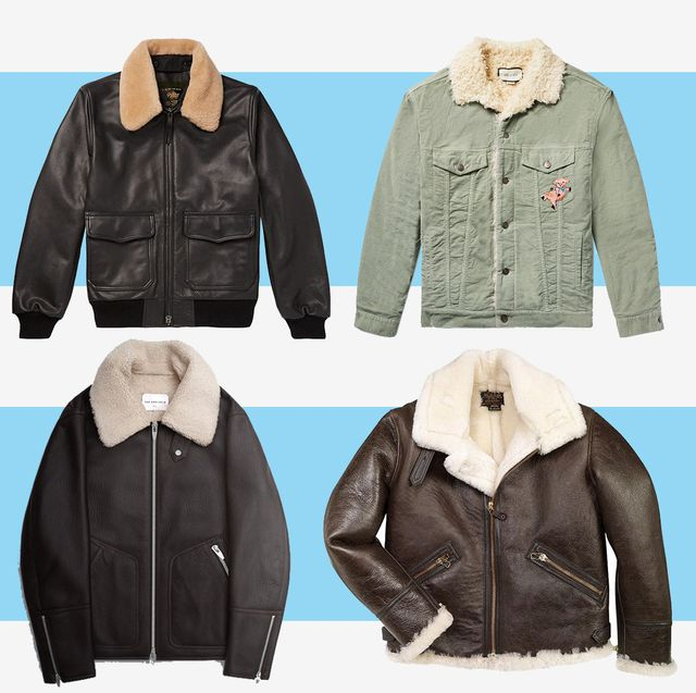 size 7 new arrive best place 17 Best Shearling Coats for Men Fall 2019 - Cool Men's ...