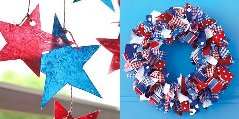 449e977450dc 20 Easy 4th of July Crafts   DIY Ideas - Patriotic American Flag ...