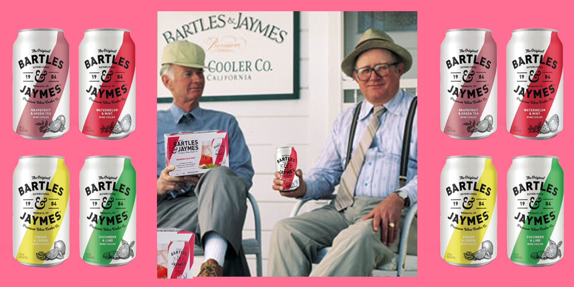 Bartles & Jaymes Disappeared After the '80s. Now, It's Making Wine Coolers...Cool Again.