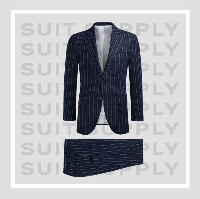 Clothing, Outerwear, Blazer, Suit, Formal wear, Jacket, Pink, Sleeve, Sweater, Button,