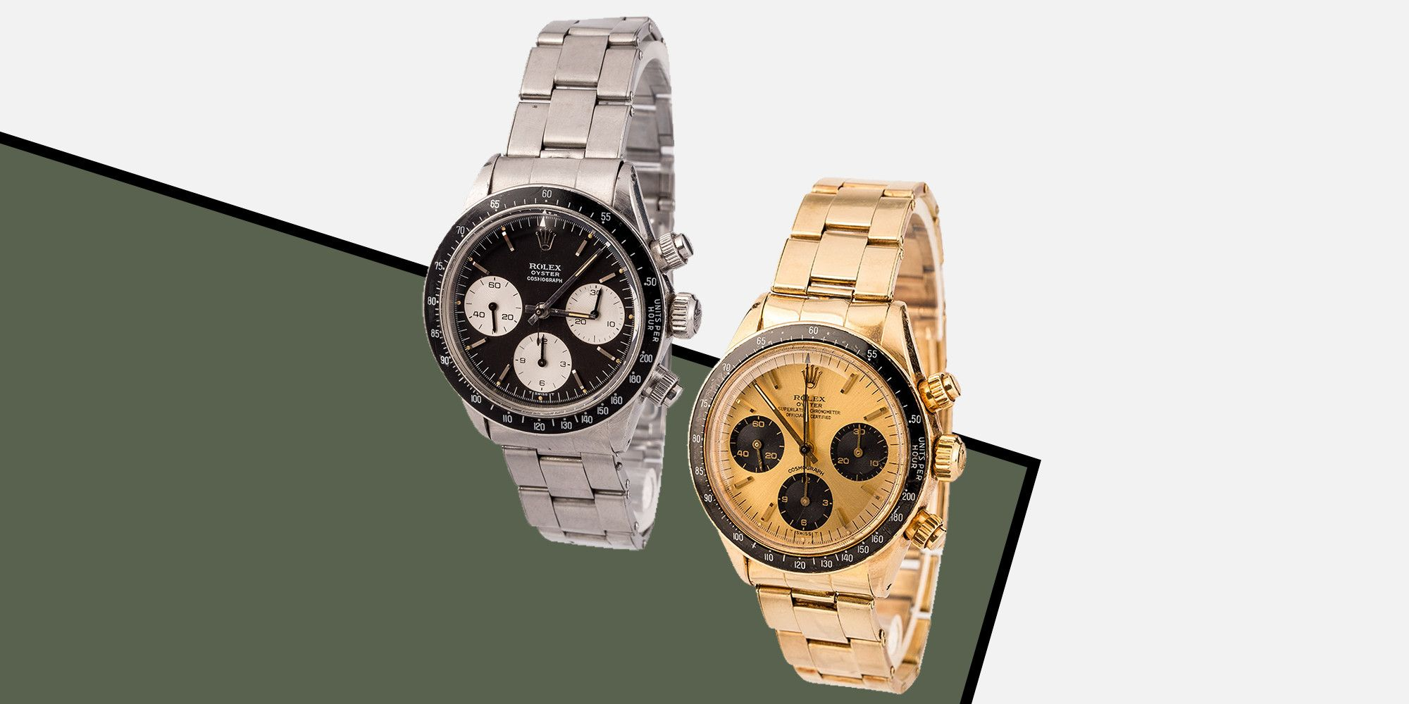 Today Is Your Last Chance to Bid on Two Grail-Level Rolex Daytonas