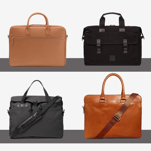848c67b08fb6 Saint Laurent Leather Briefcase