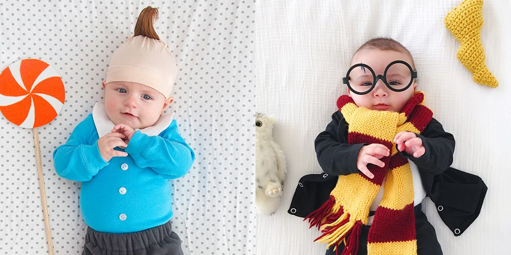cute diy baby halloween costume ideas best homemade infant rh redbookmag com cute ideas for baby christmas pictures cute ideas for baby christmas pictures