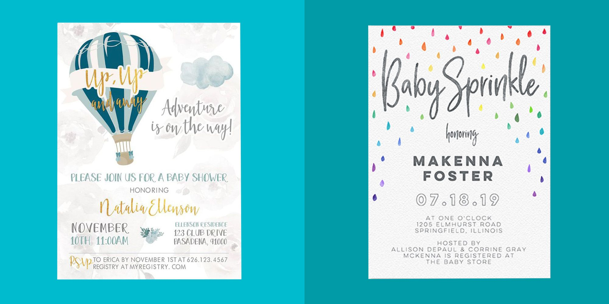22 Baby Shower Invitations Baby Shower Invites For Boys And Girls