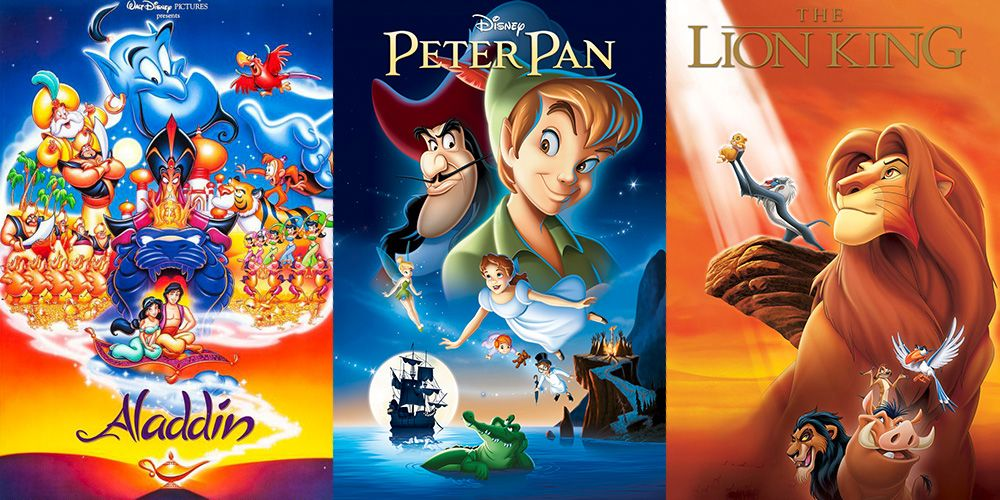 Disney movies from the 90s