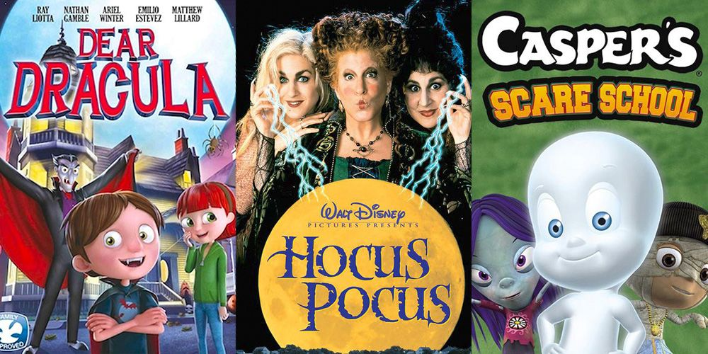 45+ of the All-Time Best Halloween Movies for Kids
