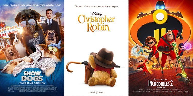 Summer Movies 2018 Posters: Best Summer Movies For Kids 2018