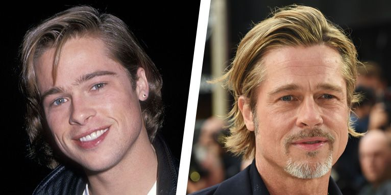 A Look Back at Brad Pitt's Hair Evolution Throughout His Career