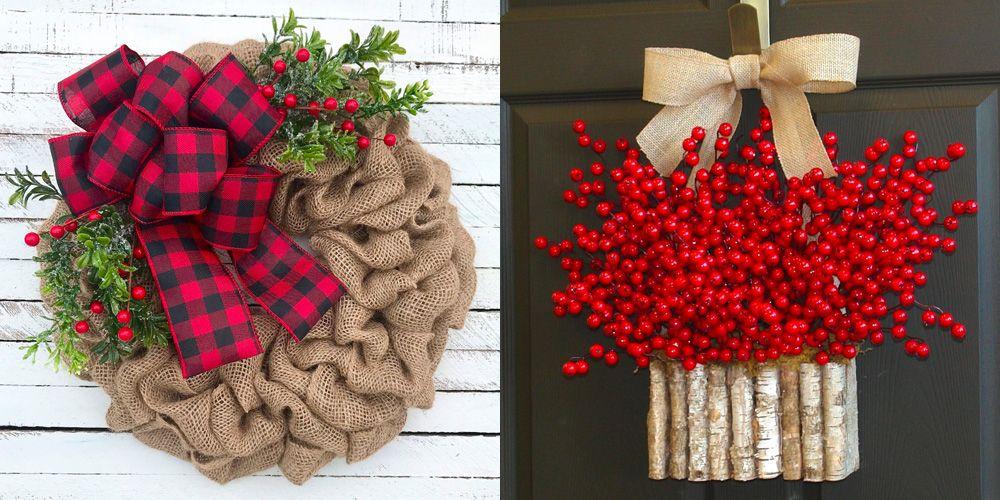 15 Best Christmas Door Decorations How To Decorate Your Door For
