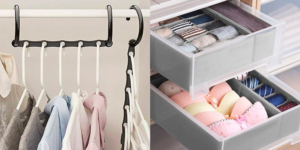 Top 10 Wardrobe Organizer Ideas
