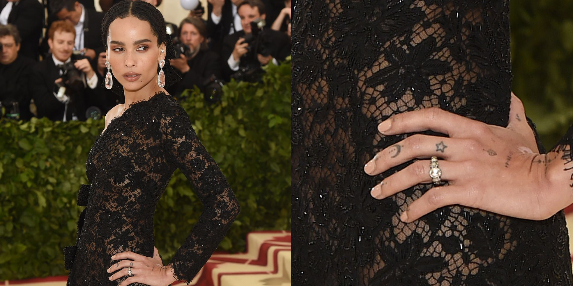 Charting the Celebrity Engagement Ring