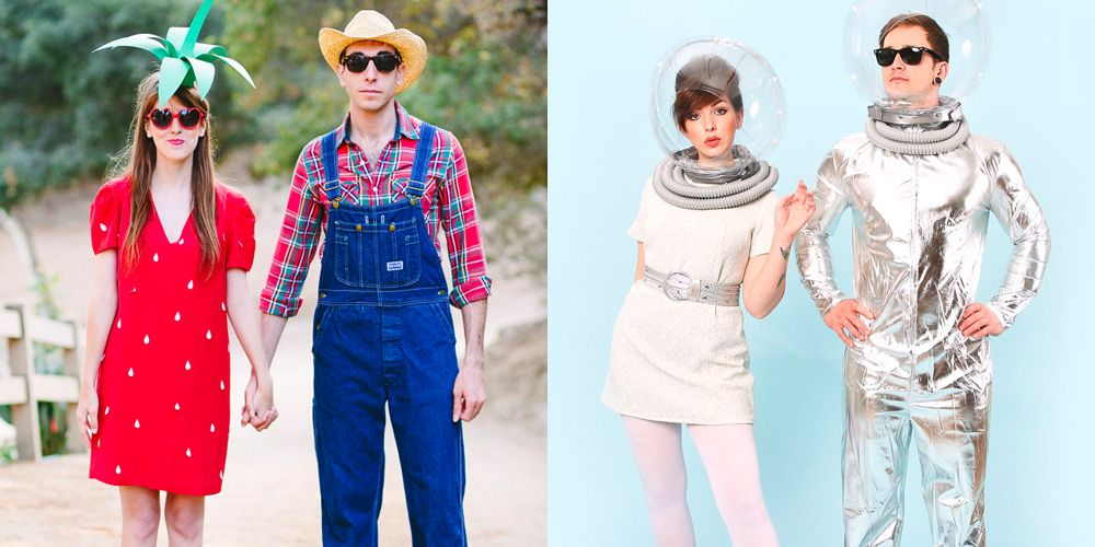 b8ad79806bb8 64 Cute Couples Halloween Costumes 2018 - Best Ideas for Duo Costumes
