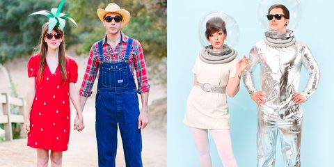 1973acb305e14 64 Cute Couples Halloween Costumes 2018 - Best Ideas for Duo Costumes