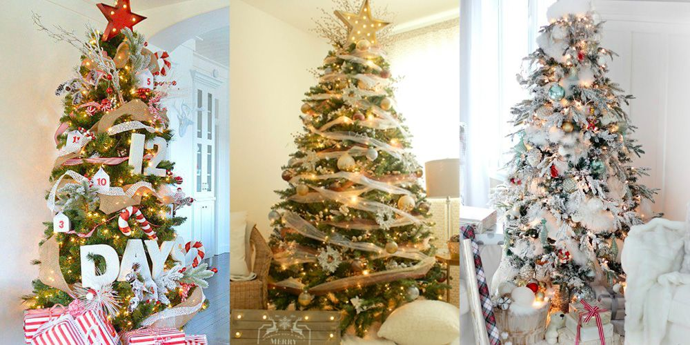 33 Unique Christmas Tree Decoration Ideas , Pictures of