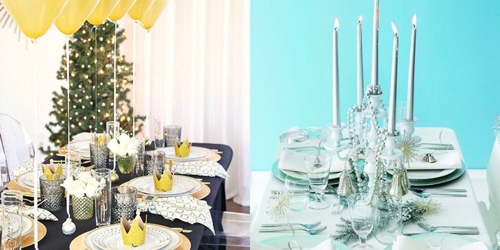 New Years Eve Table Decorations - Festive New Year's ...