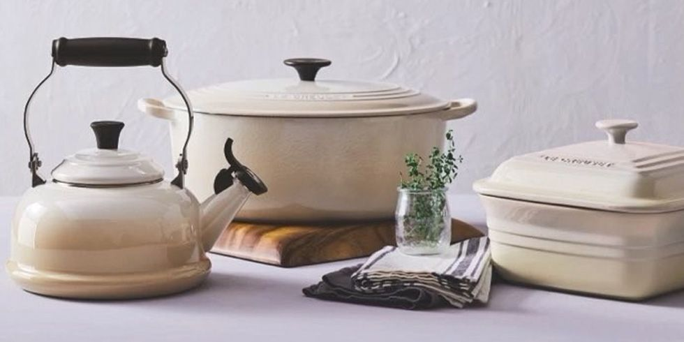 Le Creuset Is Brining Back The Neutral Dune Collection